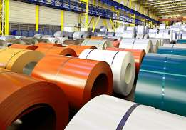 Polymer coated iron rolls